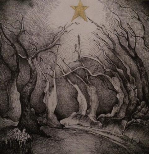 Christmas Light, above Dulverton, Exmoor - Christmas Cards