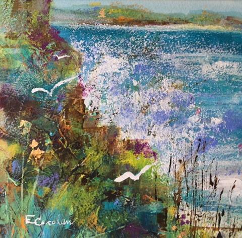 Rough Seas - Cornwall Coastal Path & Seaside Art Gallery