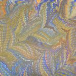 Comb and Shawl – Art of Marbling – Surrey Artist Ebru Koçak- Surrey Art School Workshops Newdigate Dorking
