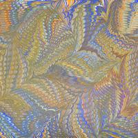 Comb and Shawl – Art of Marbling – Surrey Artist Ebru Koçak- Surrey Art School Workshops Newdigate Dorking