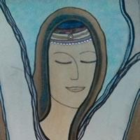Angel Art Prints: Celestial Painting – Karen Maire Budge Farnborough Hampshire Artist