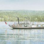 The Gondola Coniston – Lake District Art Gallery – Artist John Healey – Woking Society of Arts