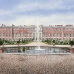 Hampton Court Palace & Gardens – London Art Gallery – Artist John Healey – Byfleet Art Group