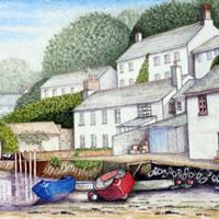 Noss Mayo Devon Art Gallery – Surrey Artist John Bunce – Guildford Art Society