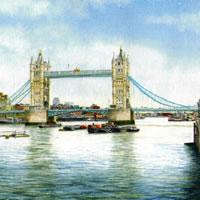 Tower Bridge - London Art Gallery - John Healey