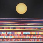 Abstract Contemporary Art – Nocturne – Fred Masters – Paintings in Acrylic and Oil – Surrey Art Gallery