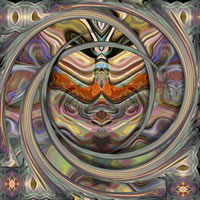 Abstract Digital Art – Passage To India – Guildford Surrey Artist – Nicola Hawkes – Wibbles