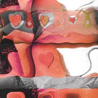 Abstract Digital Art – Romance – Guildford Surrey Artist – Nicola Hawkes – Wibbles