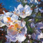 Apple Blossom – John Walsom – Contemporary and Architectural Artist – Buildings and Interiors in Oils and Watercolours – Surrey Art Gallery