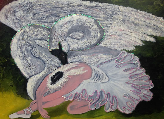 Ballerina - Dying Swan - A Masterpiece Through The Generations - South African Artist - Richard Dunn - Gallery - Artist In Oils
