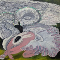 Ballerina – Dying Swan – A Masterpiece Through The Generations – South African Artist – Richard Dunn – Gallery – Artist In Oils