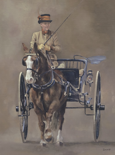 Carriage at Royal Windsor Horse Show 2013 ( II ) - Surrey Artist - Mark Dorsett - Gallery