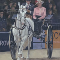 Carriage at Royal Windsor Horse Show 2013 ( I ) – Surrey Artist – Mark Dorsett – Gallery