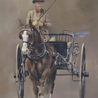 Carriage at Royal Windsor Horse Show 2013 ( II ) – Surrey Artist – Mark Dorsett – Gallery