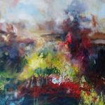 Colour Study Abstract – Stephen Kinder – Godalming Artist – Farnham Arts Society – Surrey Art Gallery