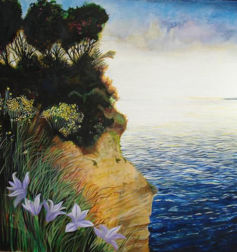 Corfu, Greece - Joanna McConnell - Landscape Artist - Surrey Art Gallery