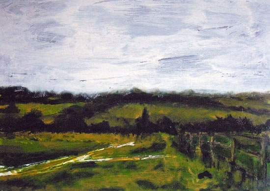 Countryside On The Edge Of London - Surrey Art Gallery - Artist Tony Scrivener - Surrey Institute of Art & Designe On The Edge Of London - Surrey Art Gallery - Artist Tony Scrivener - Surrey Institute of Art & Design