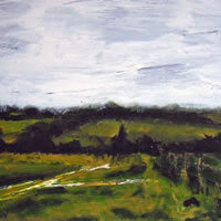 Countryside On The Edge Of London – Surrey Art Gallery – Artist Tony Scrivener – Surrey Institute of Art & Design