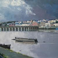 Devon – Bideford Bridge – Doug Myers – Fine Artist – Surrey Art Gallery