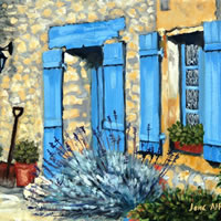 Dordogne, Le Chambellan – Le Coux et Bigaroque – Surrey Art Gallery – Jane Atherfold – Guildford Art Society