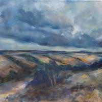 Dorset Valley – Stephen Kinder – Godalming Artist – Farnham Arts Society – Surrey Art Gallery