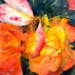 Flowers – Better Days – John Walsom – Contemporary and Architectural Artist – Buildings and Interiors in Oils, Acrylics and Watercolours – Surrey Art Gallery