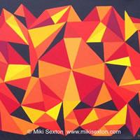 Geometric Art – Pattern – Kaleidoscope – Contemporary Art Gallery – Surrey Artist Miki Sexton