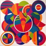 Geometric Art – The Open Mind – Contemporary Art Gallery – Surrey Artist Miki Sexton