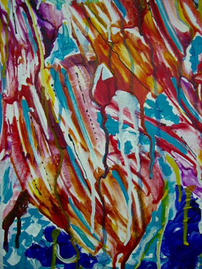 Golden - Contemporary Art - Fine Artist Specialising in Abstract Expressionism