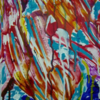 Golden – Contemporary Art – Fine Artist Specialising in Abstract Expressionism