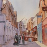 Guildford – Swan Lane – Surrey Scenes Art Gallery