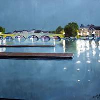 Henley Bridge Oxfordshire - Surrey Artist Doug Myers