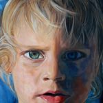 Portrait – Child – Boy – Jude – Joanna McConnell – Portrait Artist – Surrey Art Gallery
