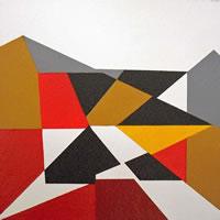 Mosaic – Abstract Art Gallery – Artist Tony Scrivener – Surrey Institute of Art & Design