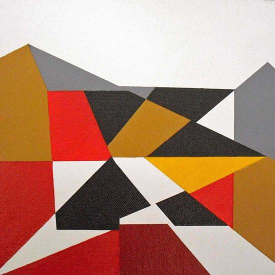 Mosaic - Abstract Art Gallery - Artist Tony Scrivener - Surrey Institute of Art & Design