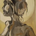 Nude Painting – Dee – Contemporary Art Gallery – London Artist Elaine Pigeon