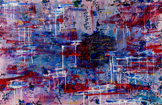 Orient - Contemporary Art - Fine Artist Specialising in Abstract Expressionism