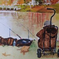 Painshill Park Cobham Surrey – Fishing Art