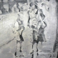 Lost Child Found By Mother – Abstract Art Gallery – Artist Tony Scrivener – Surrey Institute of Art & Design