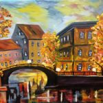 Paris at Sunset – South African Artist – Richard Dunn – Gallery – Artist In Oils