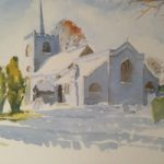 Pirbright Church in Winter – St Michael and All Angels