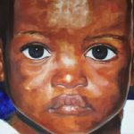 Portrait – African Child – New – Joanna McConnell – Portrait Artist – Surrey Art Gallery