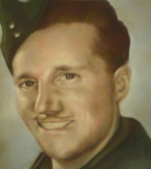 Portrait Art Commisions - Air Force - Surrey Art Gallery - Maureen Domoney - Cranleigh Artist