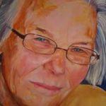 Portrait Commission – Joyce – Joanna McConnell – Portrait Artist – Surrey Art Gallery