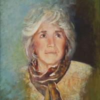 Portrait of Woman – Farnham Surrey Artist Michael Walsh