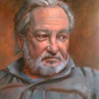 Portrait Painting of Man – Colette Simeons – Portrait Artist – Surrey Art Gallery