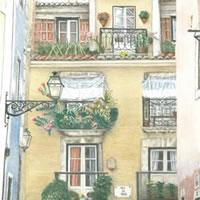 Portugal – Lisbon – Award-Winning Surrey Artist – Linda Brand UKCPS – Gallery – Pencil Artist