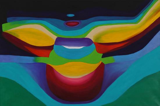 Rainbow Light Spectrum Angel - Contemporary Surrey Artist - Penelope Cake - Gallery