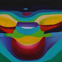 Rainbow Light Spectrum Angel – Contemporary Surrey Artist – Penelope Cake – Gallery