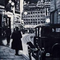 Regent Street – Black and White – London Gallery – Jane Atherfold – Sunningdale Art Society